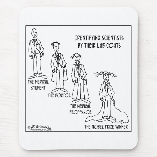 Identification Guide To Scientists Mouse Pad