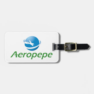 Identification of luggages of the Aeropepe Bag Tag