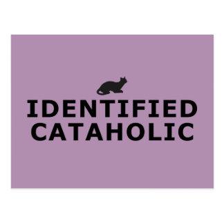 Identified Cataholic Postcard