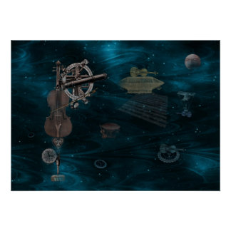 Identified Flying Violins Poster