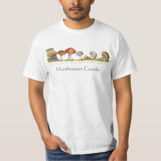 Identify Your Mushrooms Edible or Poisonous Tee Shirt