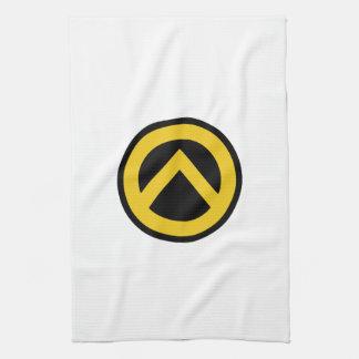 Identitäre Bewegung Lambda-Logo Handtuch