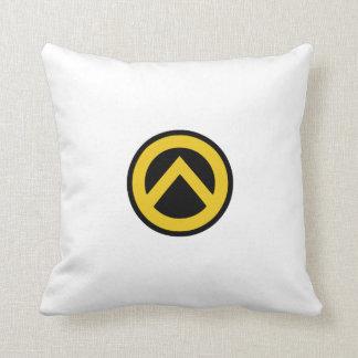 Identitäre Bewegung Lambda-Logo Zierkissen