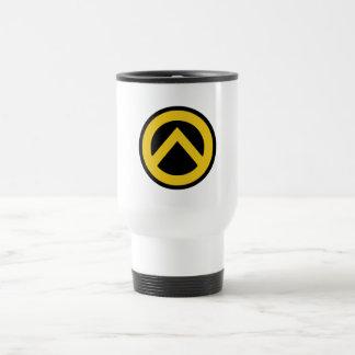 Identitäre movement (Lambda logo) 15 Oz Stainless Steel Travel Mug