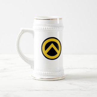 Identitäre movement (Lambda logo) 18 Oz Beer Stein