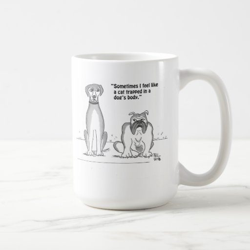 Identity crisis for dogs coffee mugs