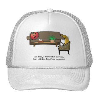 Identity Crisis, Tomato Sees Psychiatrist Trucker Hat