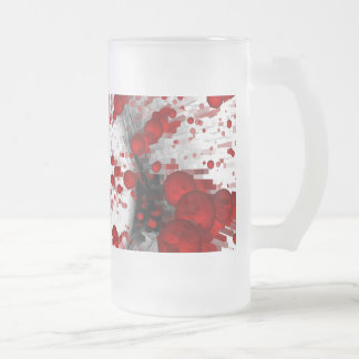 Identity Death Frosted Glass Beer Mug