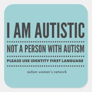 Identity First Language Stickers