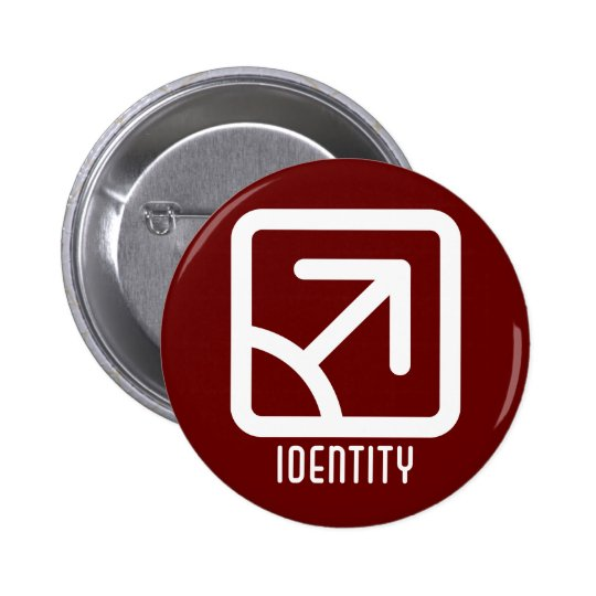 Identity : Male Round Dark Button