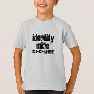 identity mine, xxx-xx-, dirt T-Shirt