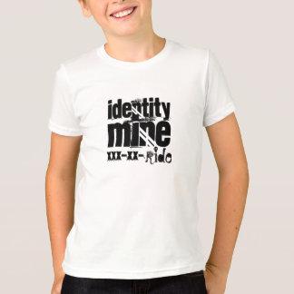 identity, mine, xxx-xx-, ride T-Shirt