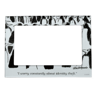 Identity Theft Magnetic Frame
