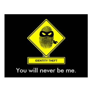 Identity Theft Postcard