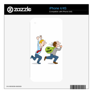 Identity Theft Decals For The iPhone 4