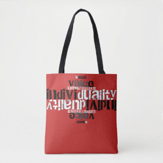 Identity Voice Individuality Tote Bag