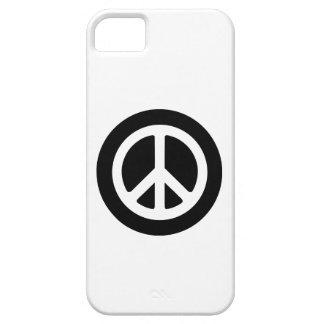 Ideología de la paz iPhone 5 funda