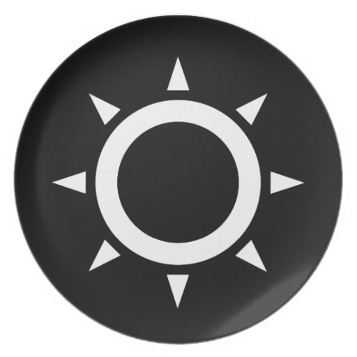 Ideología de Sun Plato Para Fiesta