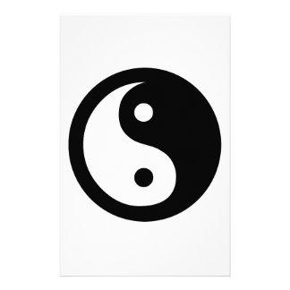Ideología de Yin Yang Papeleria De Diseño