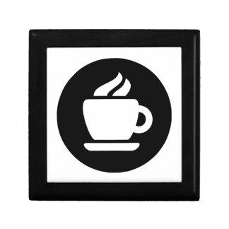 Ideología del café cajas de recuerdo