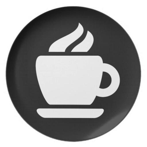 Ideología del café platos de comidas