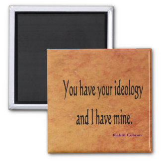 Ideology magnet