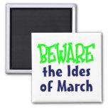 Ides de marzo imán para frigorifico