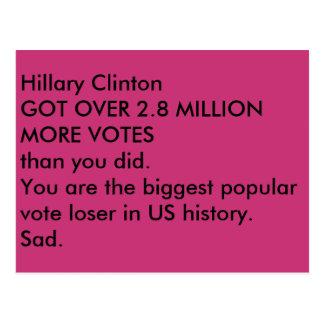 ides of trump sad postcard