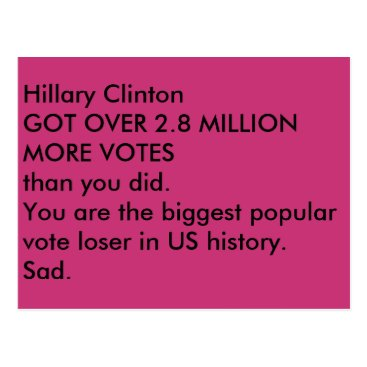 Too_Opinionated ides of trump sad postcard