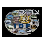 IDF Composite Dark Poster