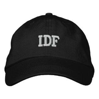 IDF ISRAEL DEFENSE FORCE EMBROIDERED BASEBALL HAT