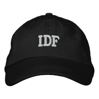 IDF ISRAEL DEFENSE FORCE EMBROIDERED HATS