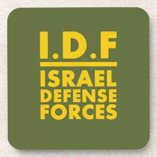IDF Israel Defense Forces2 - ENG - FULL Beverage Coasters
