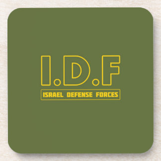 IDF Israel Defense Forces 3 - ENG - FULL Drink Coaster