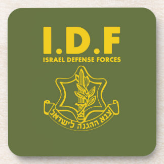 IDF Israel Defense Forces - ENG Beverage Coasters