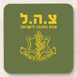 IDF Israel Defense Forces - HEB Coasters