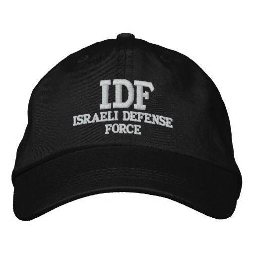 IDF ISRAELI DEFENSE FORCE EMBROIDERED BASEBALL HAT