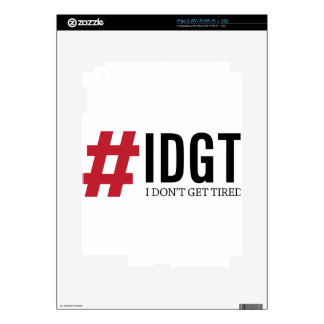 IDGT DECALS FOR iPad 2