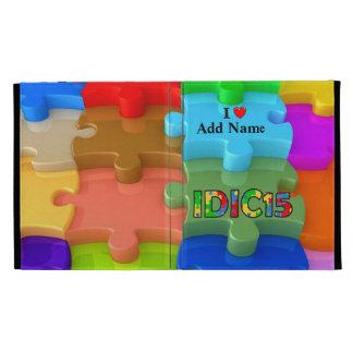IDIC15 3D Puzzle iPad Folio Case Customize