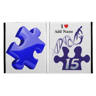 IDIC15 Blue Puzzle iPad Folio Case Customize