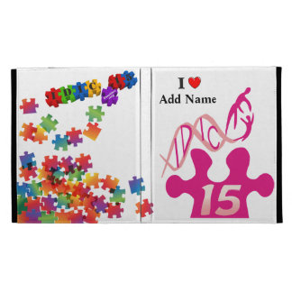 IDIC15 Multicolor Puzzle iPad Folio Case Customize