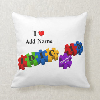 IDIC15 Multicolor Puzzle Pillow Customize