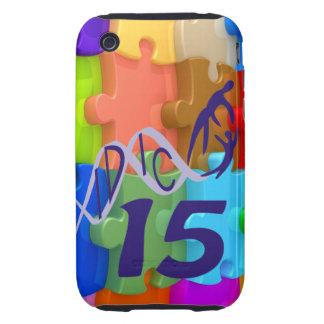IDIC 15 iPhone 3 Case 3D Multicolor Puzzle