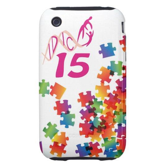 IDIC 15 iPhone 3 Multicolor Puzzle Case