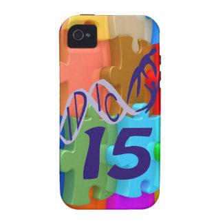 IDIC 15 iPhone 4 Case 3D Multicolor Puzzle