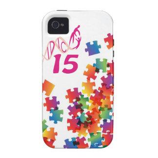 IDIC 15 iPhone 4 Multicolor Puzzle Case iPhone 4/4S Cover