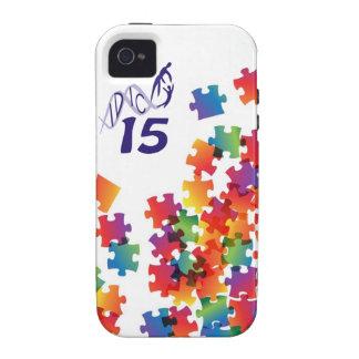 IDIC 15 iPhone 4 Multicolor Puzzle Case iPhone 4 Cover
