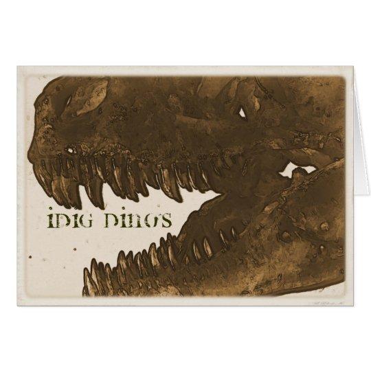 idig dino's card