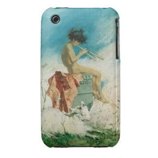 Idilio, 1868 (w/c en el papel) iPhone 3 Case-Mate fundas