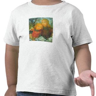 Idilio de Piet Mondrian Camisetas